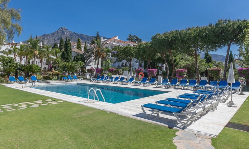 Family ground floor apartment at Señorio de Marbella