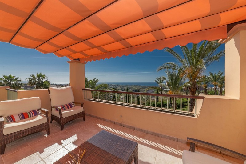 Penthouse apartment at Los Flamingos Golf