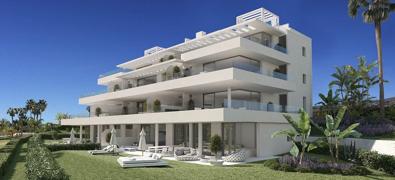 Cataleya, an exciting new development of contemporary apartments close to Marbella.