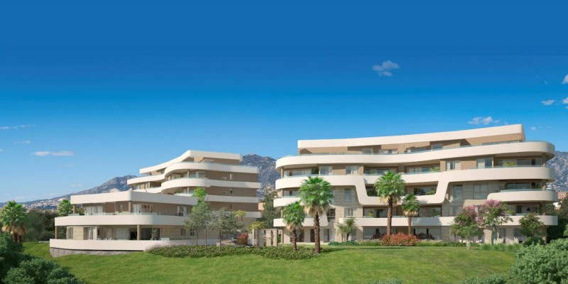 Aria by the Beach, New build 3 bedroom apartments with sea views