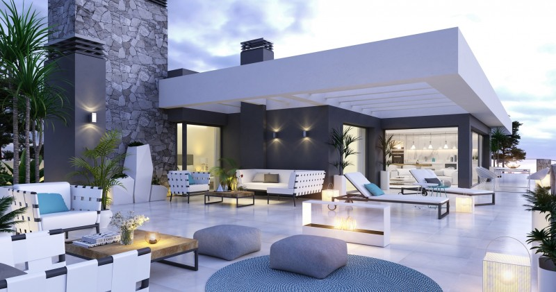 Boutique development of apartments and penthouses on the New Golden Mile, Estepona