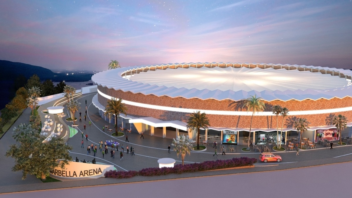 Marbella Arena - exciting new concert venue in Marbella, close to Puerto Banus