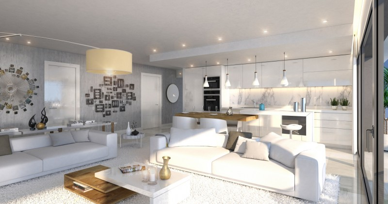 New Build apartments Estepona