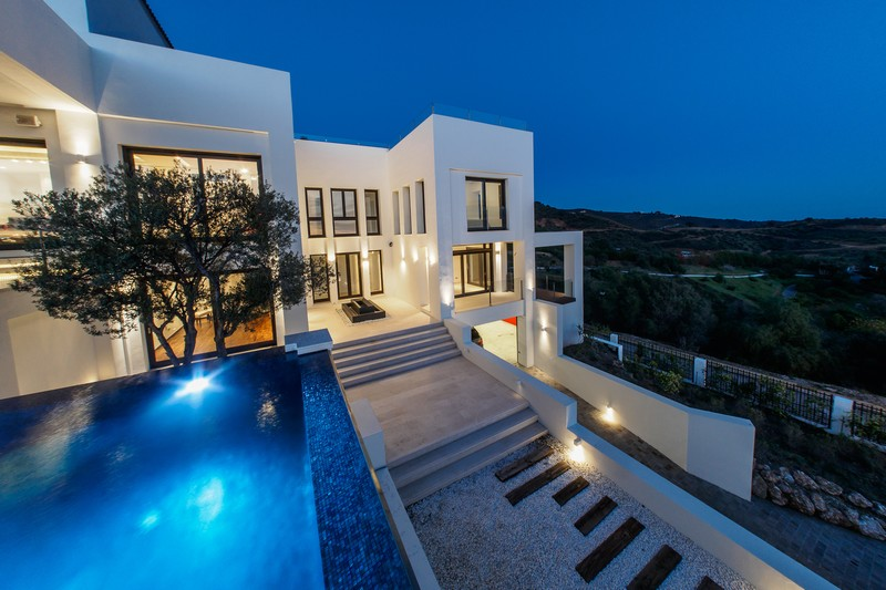 Contemporary luxury villa at Los Monteros, Marbella