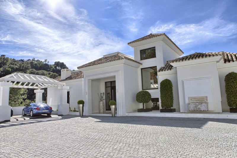 La Zagaleta, luxury Marbella villa with its own spa