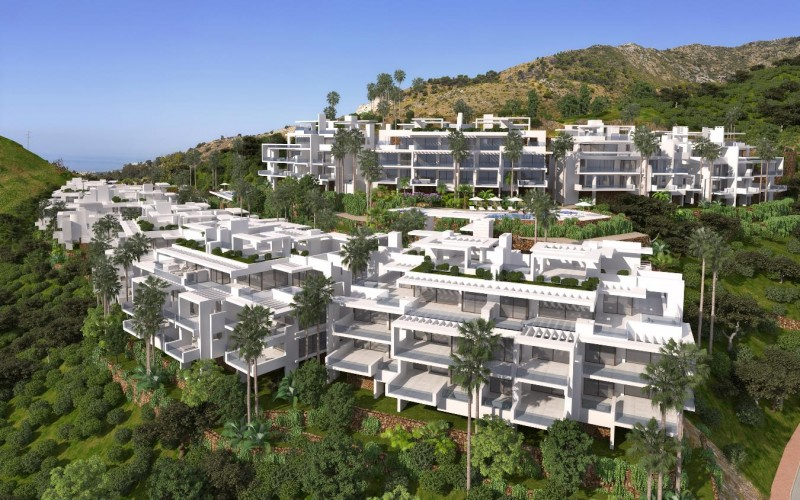 Palo Alto, Ojën, Marbella, New build apartments and villas