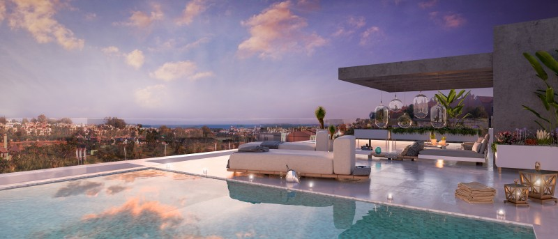 El Campanario Hills, New build luxury apartments with private pools