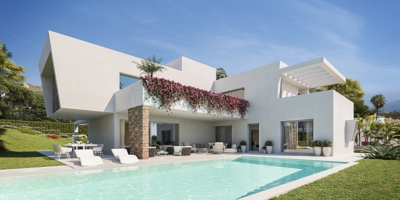 Las Perlas de Monte Biarritz. New build luxury family villas